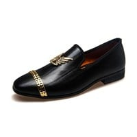 Luxury Brand Loafers Wedding Shoes