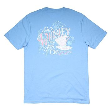 Whiskey in a Tea Cup Tee by Lauren James