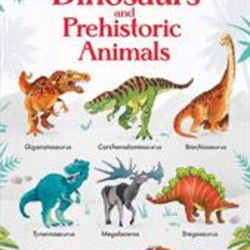 Usborne Books & More. 199 Dinosaurs and Prehistoric Animals (IR)