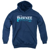 Parks And Rec - Pawnee Youth Pull Over Hoodie