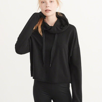 Womens Active Cropped Hoodie | Womens New Arrivals | Abercrombie.com