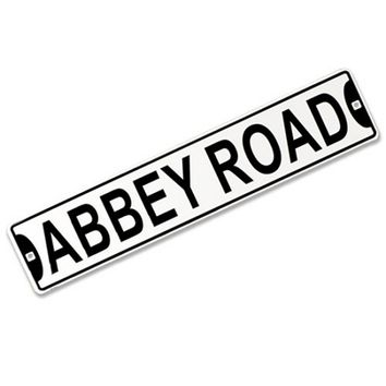 The Beatles - Abbey Road Street Sign