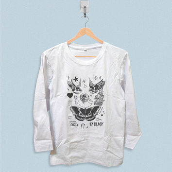 Long Sleeve T-shirt - Harry Styles Tattoo