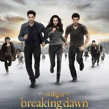 The Twilight Breaking Dawn Part 2 – Running Movie Poster 27x40 Used Nikki Reed, Christian Camargo, Lee Pace, Wendell Pierce, Ty Olsson, Cameron Bright, Peter Facinelli, Kellan Lutz, JD Pardo, Robert Pattinson, Andrea Powell, Chaske Spencer