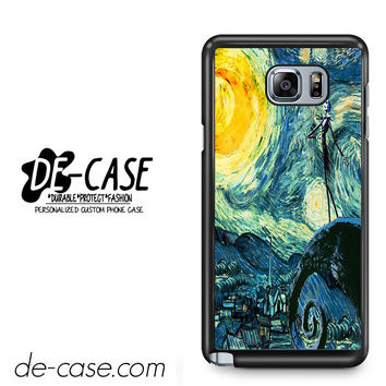 Nightmare Before Christmas Art Van Gogh For Samsung Galaxy Note 5 Case Phone Case Gift Present