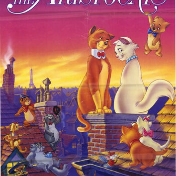 Aristocats 11x17 Movie Poster (1987)