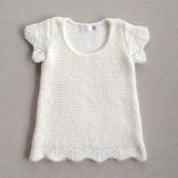 Moi Bebe Clayeux Knitted Dress - France (18m)