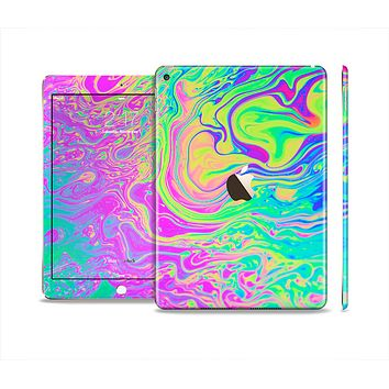 The Neon Color Fushion Skin Set for the Apple iPad Air 2