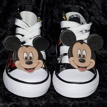 mickey mouse birthday shoe converse
