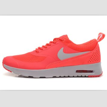 NIKE trend of fashion leisure sports shoes Rose red