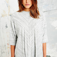 Sparkle & Fade High Neck Swing Top - Urban Outfitters