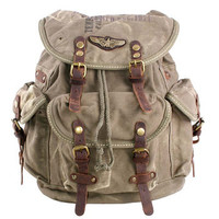 Cool distressed canvas backpacks unisex