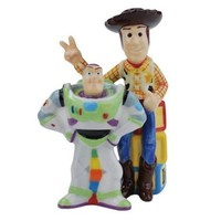 Westland Giftware Buzz and Woody Salt and Pepper Shakers