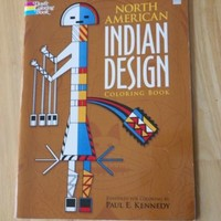 North American Indian Design Coloring Book by Paul E. Kennedy