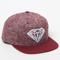 Diamond Supply Co - Garnet Maroon Snapback Hat - Mens Backpack - Maroon - One
