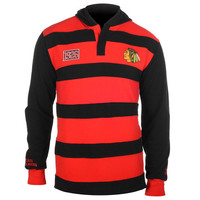 Chicago Blackhawks Official NHL Cotton Rugby Hoody