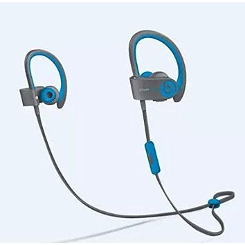 Beats by Dr Dre Powerbeats 2 Wireless In-Ear Bluetooth Headphone (Flash Blue) Customer Return $40 Off (Tested Working Perfectly and repackaged) …