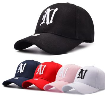 Stylish Outdoor Sports N Embroidered Baseball Cap Hat