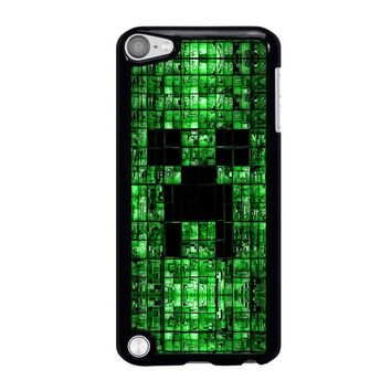 CREEPER MINECRAFT 3 iPod Touch 5 Case Cover