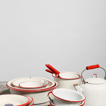 Vintage Enamelware Kitchen Super Set - Urban Outfitters