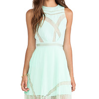 Three Floor Sweet Something Dress in Mint