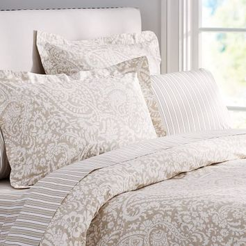 Theo Bedding Set - Brownstone