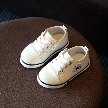 New Spring Autumn Children Shoes Boys Breathable Canvas Shoes Boys & Girls Not Smelly Foot  Kids Baby Sneakers