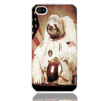 sloth to fit iphone 4/4s case  014 by magic4case on Etsy