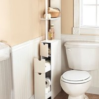 Space-saving Storage Cabinets - White