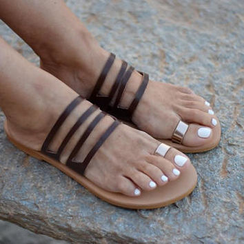 Greek sandals,leather sandals , womens sandals , wide straps , sandals , womens shoes , gifts,handmade sandals.womens