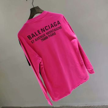 Balenciaga 2018SS New, OS loose version of the two-piece jacket, can T-shirt, can be clothes, a variety of ways, a more wear effect, with arbitrary 004