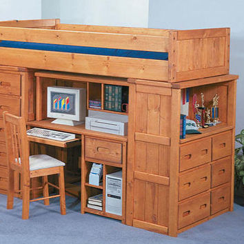 Warren Twin Storage Loft Bed