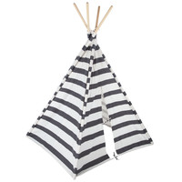 Gray & White Striped Teepee | Hobby Lobby | 1121235