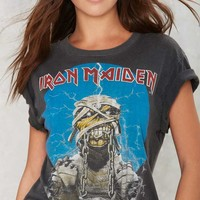 Vintage Iron Maiden World Slavery '85-'86 Tour Tee