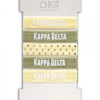 Kappa Delta Hair Tie Set | A-List Greek Designs