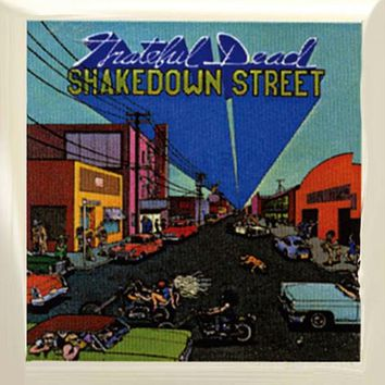 Grateful Dead - Shakedown Street Square Button
