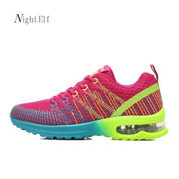 Women running shoes women High quality gym trainers breathable mesh sneakers sport sho
