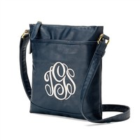 Monogram Crossbody Purse