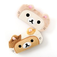 Rilakkuma Motto Nonbiri Neko Glasses Cases