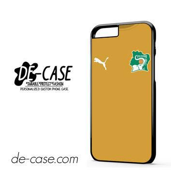 Ivory Coast Soccer Jersey For Iphone 6 Iphone 6S Iphone 6 Plus Iphone 6S Plus Case Pho