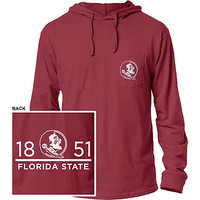 Florida State University Hooded Long Sleeve T-Shirt | Florida State University