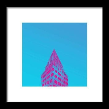 Urban Architecture - Berlin, Germany A - Framed Print