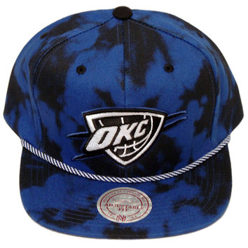 Oklahoma City Thunder Blue Denim Back Snapback