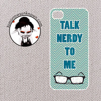 Chevron iPhone 4 Case iPhone 4s case, iPhone case (80414) Talk Nerdy to Me