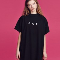 Lazy Oaf Cat T-shirt - Tops - Categories - Womens