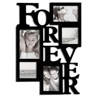 "Adeco ""Forever"" 5-Opening Collage Picture Frame"