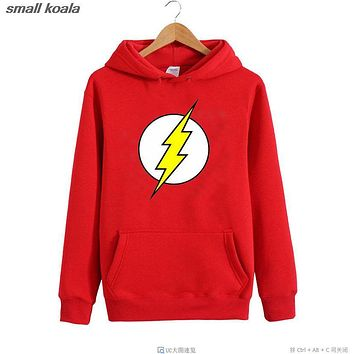 The Flash Barry Allen Star Lab Labs Black Color Mens Sweatshirt Men Novelty Heroes Pullover 2016 Male Clothes Arrow Friend