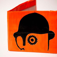 A Clockwork Orange Duct Tape Wallet by moistsnailpoop on Etsy