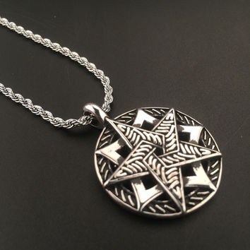 Stylish Jewelry Shiny New Arrival Gift Hot Sale Fashion Hip-hop Club Necklace [6542761347]