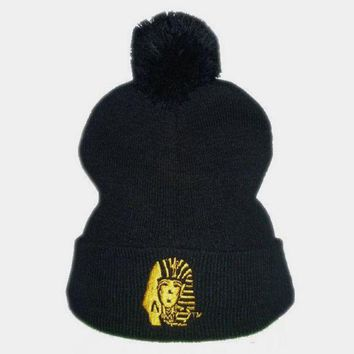 Perfect Last Kings Embroidery Women Men Beanies Winter Knit Hat Cap